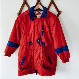 Vintage Retro Ski Jacket